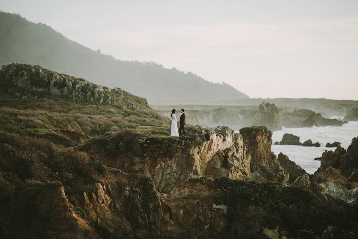 Beatriz   Morgan wedding at Big Sur