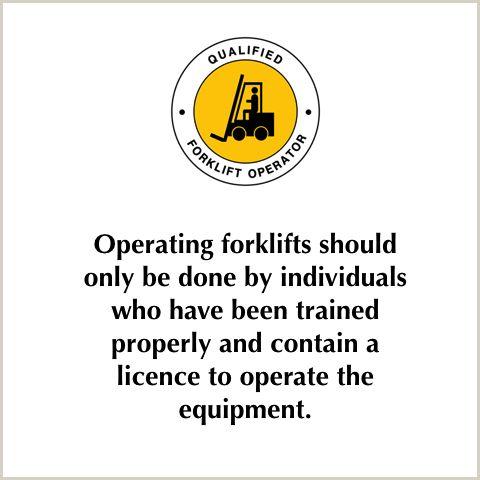 Forklifts Safety Tips