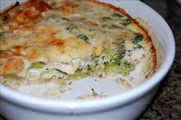 Crustless Broccoli and Cheese Quiche | Recipe