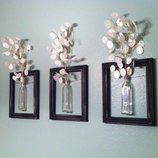 repurpose old picture frames - i am going to need to reuse wedding decor and this is a good idea!