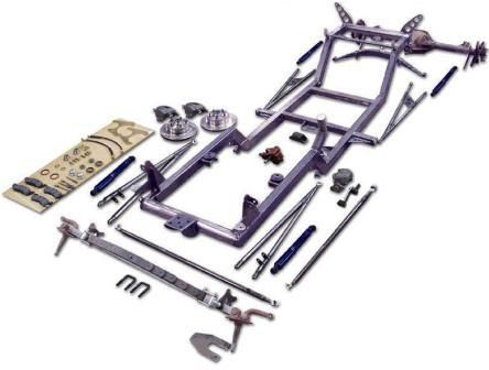 """NEHR's """"Hot Rod in a Box"""" T-Bucket kit is a well-engineered package that offers ease of assembly for the home garage builder without any welding or drilling."""