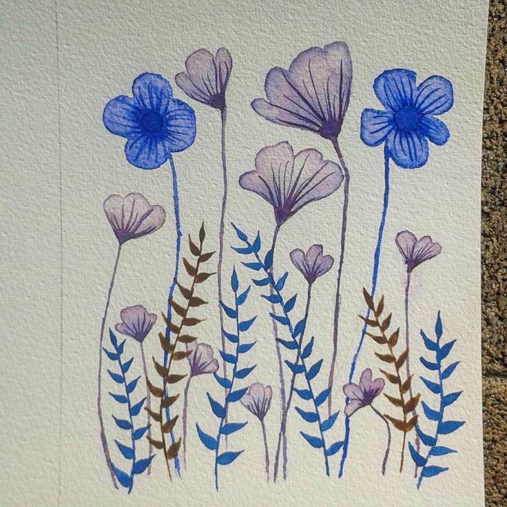 Quick watercolours   @artfullymaya