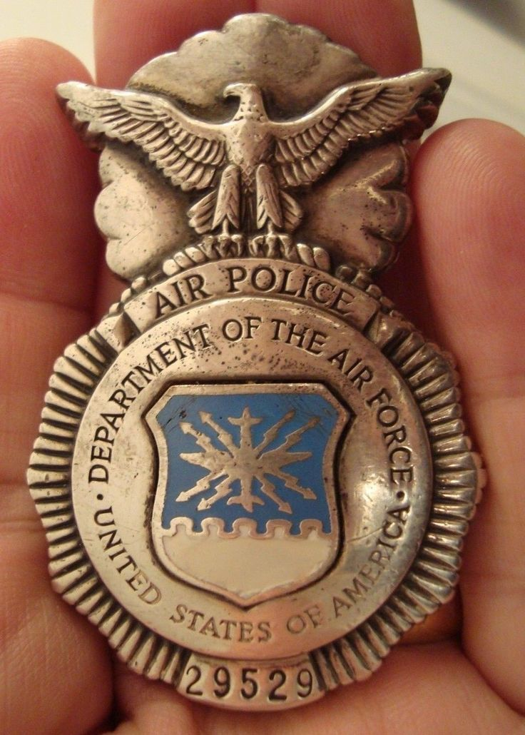 USAF AIR POLICE (19481966) Military insignia, Police