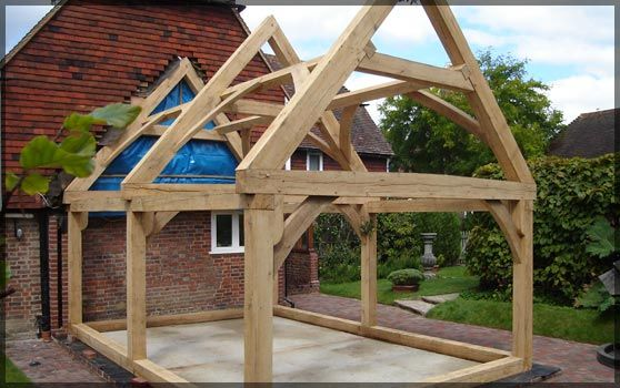 Oak Frames Fabricated to your Specifications