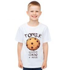 Koszulka personalizowana dziecięca CIASTECZKO idealny na urodziny
