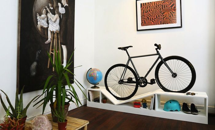 Furniture That Doubles As Elegant Bike Storage By Chol#1