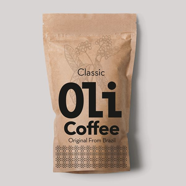 Coffee packaging Oli for Brazil Country