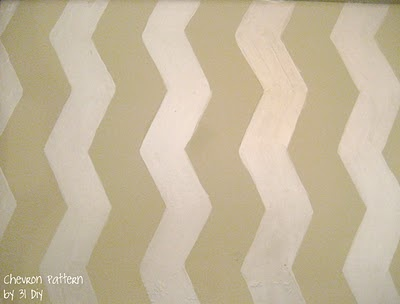 chevron template....the one I used for my side table