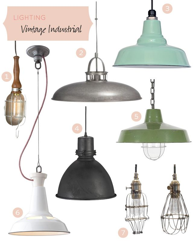 These lights bring a little something to most spaces. They toughen up a too-sweet interior, they age the brand-new, and they complement the aged.
