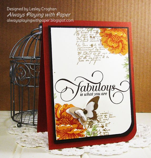 Fabulous Fall Friendship by Lionsmane - Cards and Paper Crafts at Splitcoaststampers