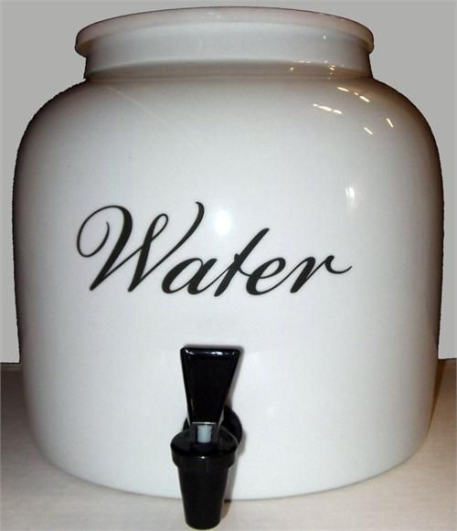 Quot Water Quot Ceramic Water Dispenser Monstermarketplace Com