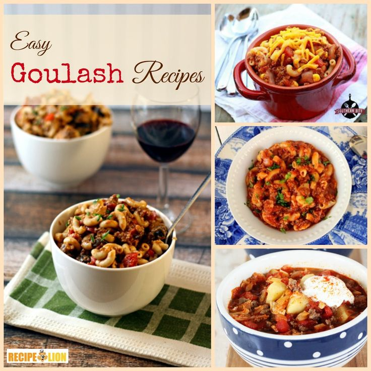 Awesome Recipes for Goulash: 24 Cozy & Cheap Eats. These easy goulash recipes are perfect for fall and winter.