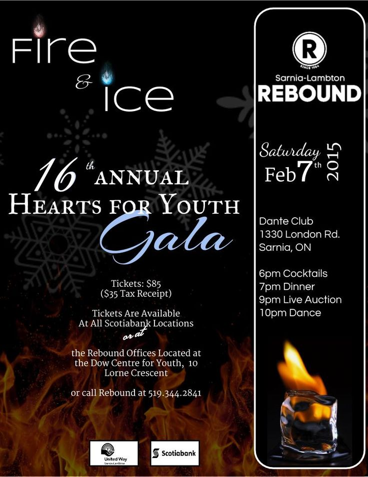 Rebound's Hearts For Youth Gala 2015