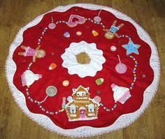 Gingerbread Christmas Tree Skirt