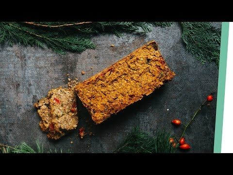 Linsen Nuss Brot | Lentil Nut Roast | Living The Healthy Choice - YouTube