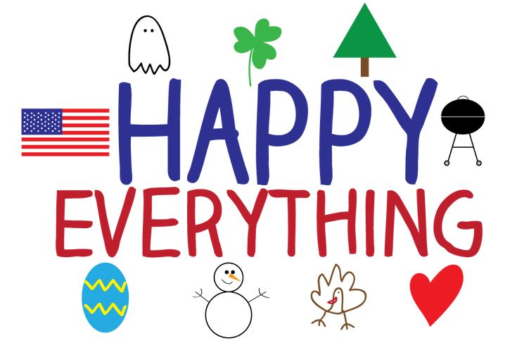 Free Holiday Clipart to use for Christmas, Easter, Father's Day!