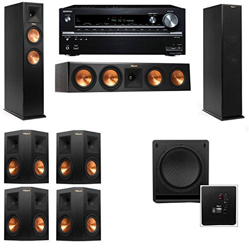 sound system accessories. klipsch rp250f tower speakerssw11271onkyo txnr838 ** continue to the product at image link-. surround sound systemstower system accessories