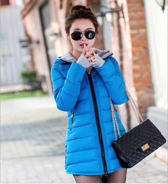 Winter Jacket Women Down Cotton Coat Slim Fit Parkas Ladies Padded Plus Size Winter Jackets L-XXXL For Women BN007