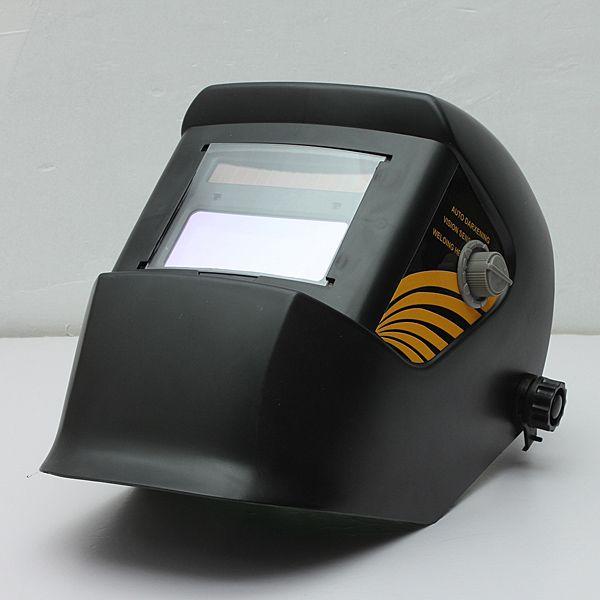 Hot Sale Black Solar Welding Helmet Auto-Darkening ARC Mig Tig Mag Spot Argon Arc Welding Grinding For Welder Mask Free Shipping #Affiliate