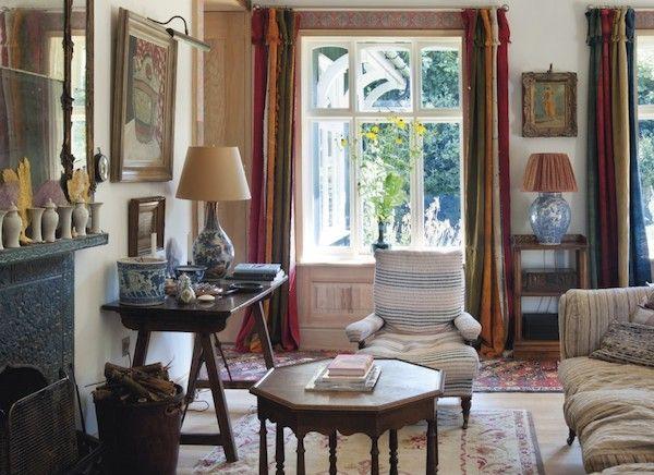 RDuJour » Robert Kime Interiors Wiltshire England House-2