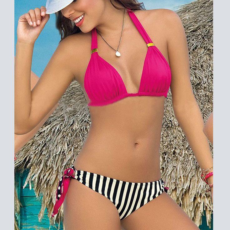 $16.30 (Buy here: https://alitems.com/g/1e8d114494ebda23ff8b16525dc3e8/?i=5&ulp=https%3A%2F%2Fwww.aliexpress.com%2Fitem%2FWomen-s-Swimming-Suit-Sexy-Striped-Bikini-Set-Swimwear-Women-Swim-Suit-Fashion-Bathing-Suit-Swimsuit%2F32707002289.html ) Women's Swimming Suit  Sexy Striped Bikini Set Swimwear Women Swim Suit Bathing Suit Swimsuit Biquine Brazilian Bikini for just $16.30