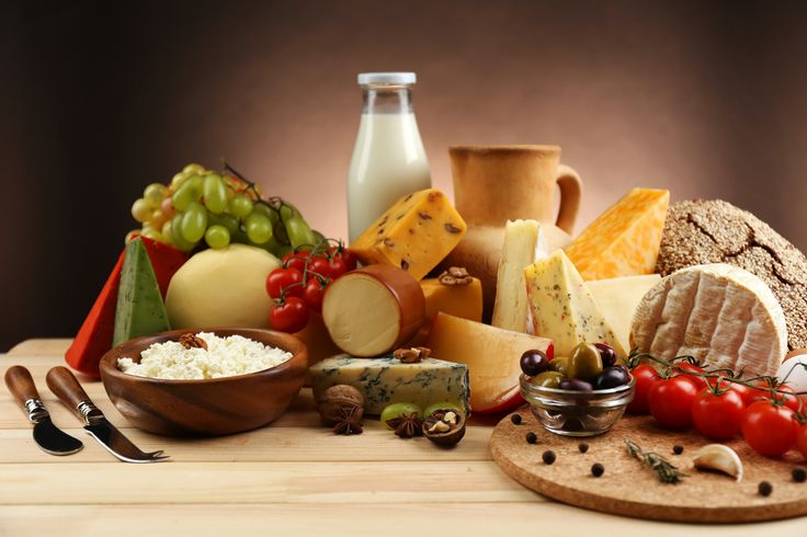 Still-life Cheese Milk Tomatoes Nuts Bottle Food