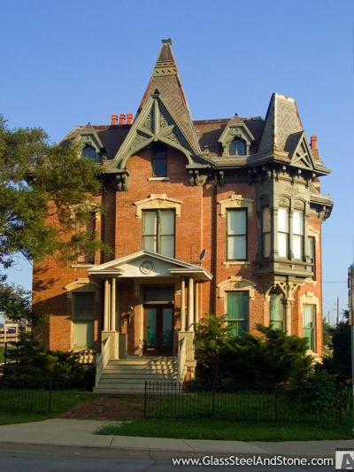 One of my favorite historic homes. Wheeler-Woolner House, Peoria, Illinois photograph.