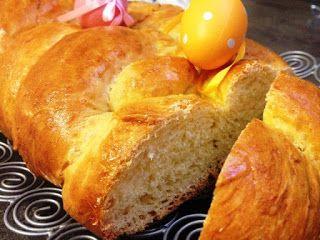 Finomságok Nikitől: Húsvéti fonott kalács