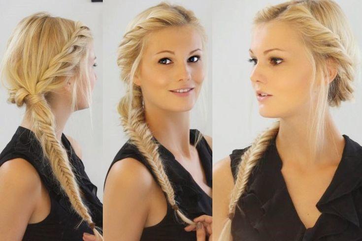 Herringbone braid and twirling technique – HAIR TURNING TUTORIAL