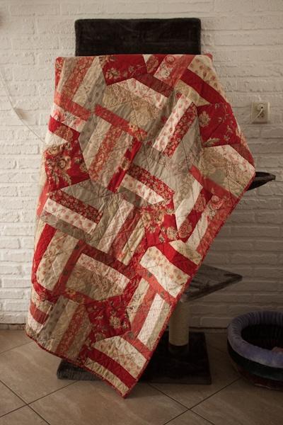 Anja's Quilt's- very appealing & cozy look