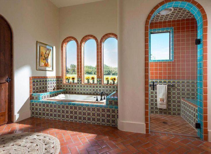 Pin Auf Spanish Bathrooms