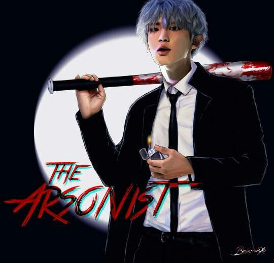 Park Chanyeol The Arsonist - EXO Mafia AU series #Fanart