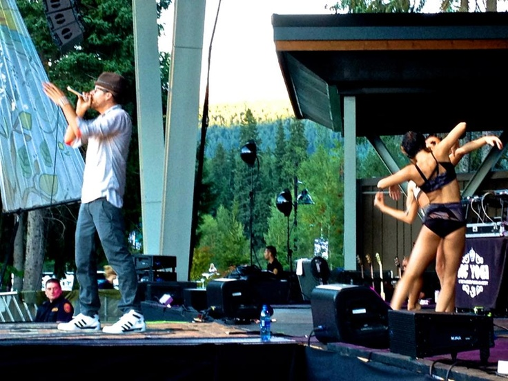 MC Yogi with Quixotic performing!  Official Social City Networking INC.. Photos. All rights reserved. Photographers: Sara Rose McKenna