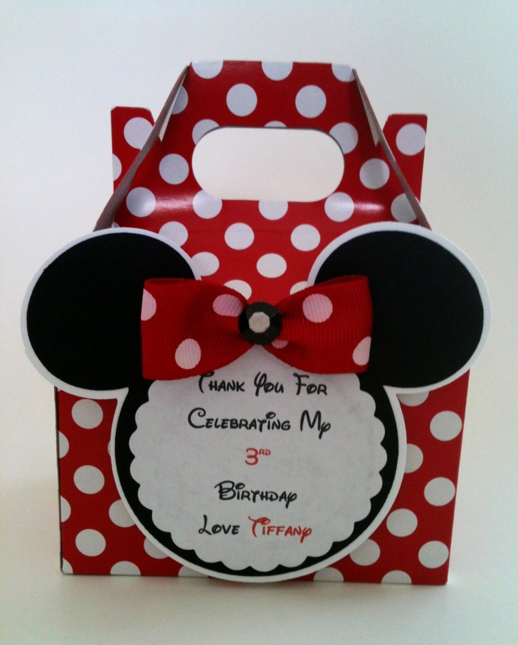Minnie Mouse Party Favors Minnie Mouse Favors by MyCraftySides, $20.00