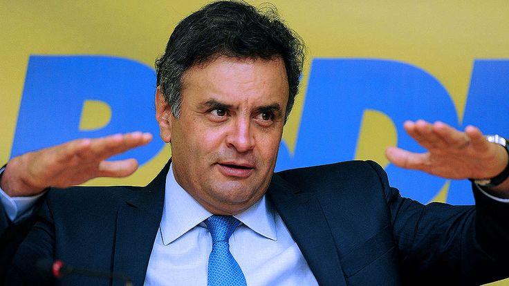 Pronunciamento de Dilma foi campanha eleitoral, diz Aécio - Brasil - Notícia - VEJA.com