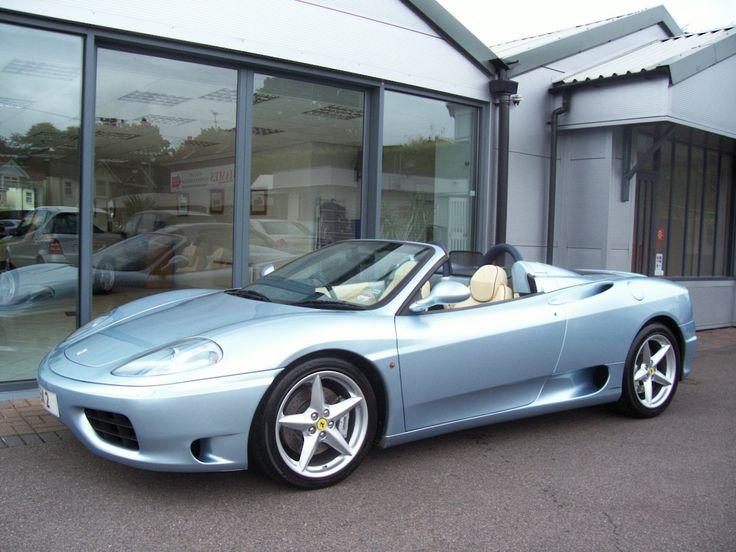2004 Ferrari 360 2 Dr Spider Convertible