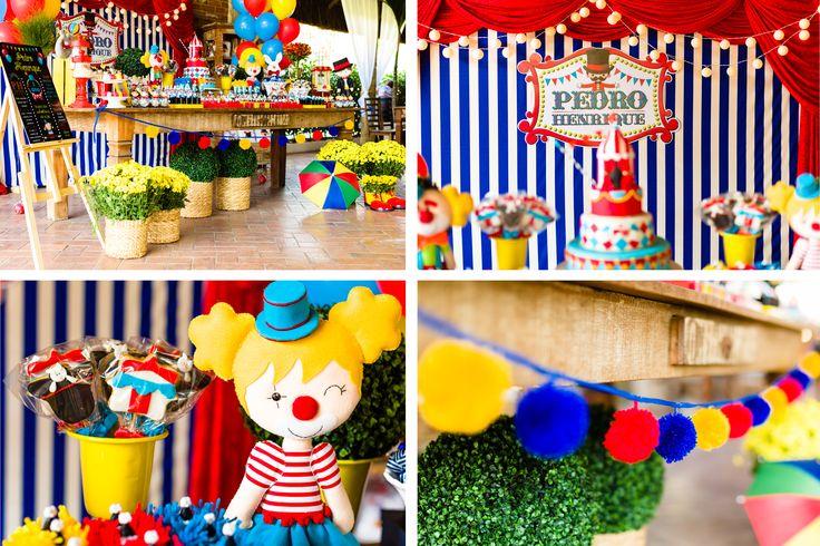 Festa Circo Menino - Circus Party