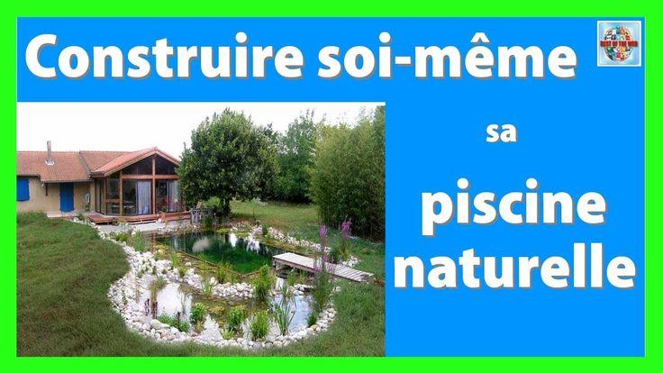 Comment Construire Sa Piscine Naturelle Soi Meme | Bricolage | Pinterest |  Outdoor Structures, Garden Et Outdoor