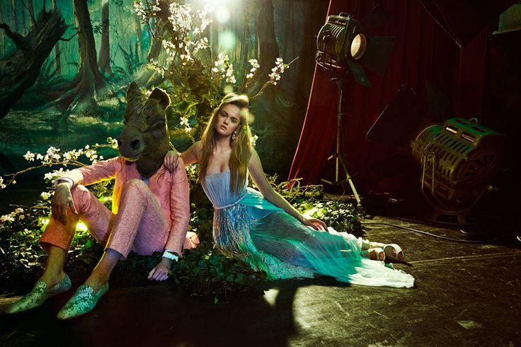 FD Persoonlijk fashion 'Midsummer Night's Dream' Photography: Oof Verschuren