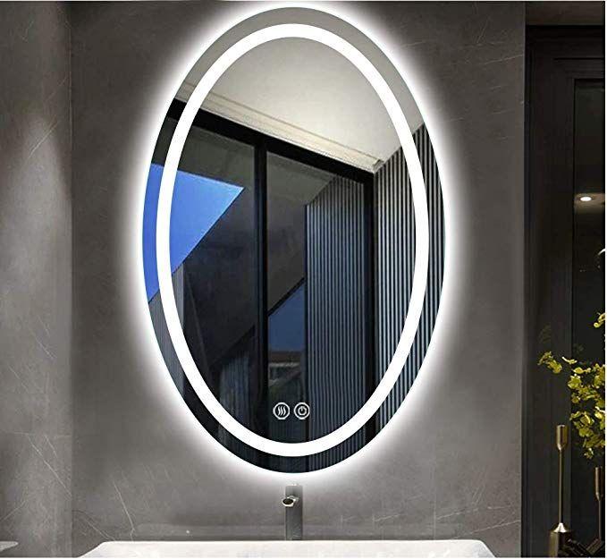 Amazon Beautimira 洗面ミラー 洗面台 化粧 鏡 新築 Led ミラー 浴室鏡 壁掛け 曇り止め 楕円50x70cm ミラー 鏡 オンライン通販 2020 浴室 鏡 化粧鏡 鏡 壁掛け