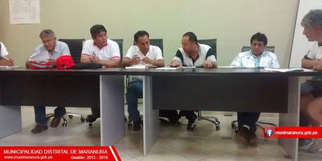 REUNIÓN CON REPRESENTANTES DEL MINISTERIO DE TRANSPORTES