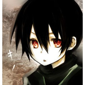 black haired red eyed anime boy animes pinterest