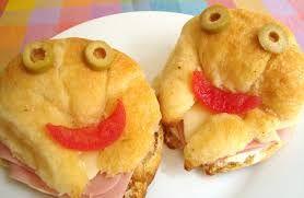 Resultado de imagen para cuernitos jamon y queso