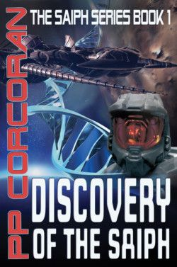 "http://bit.ly/1yvLFiu -        Discovery of the Saiph by PP Corcoran   ""Amazing epic space battles, space colonization, discovery of new alien cultures, and desperate missions behind enemy lines."" The Marco Polo is the first of it's kind to leave Earth's Solar System and lead humankind to Proxima Centauri. Unexpectedly the ship's scientists detect power readings, they confirm they are artificial, obviously alien and emanate from Planet III… a w"
