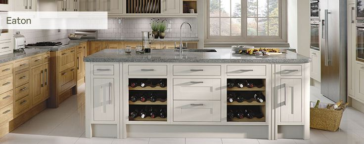 Cabinets only - change handles and worktop