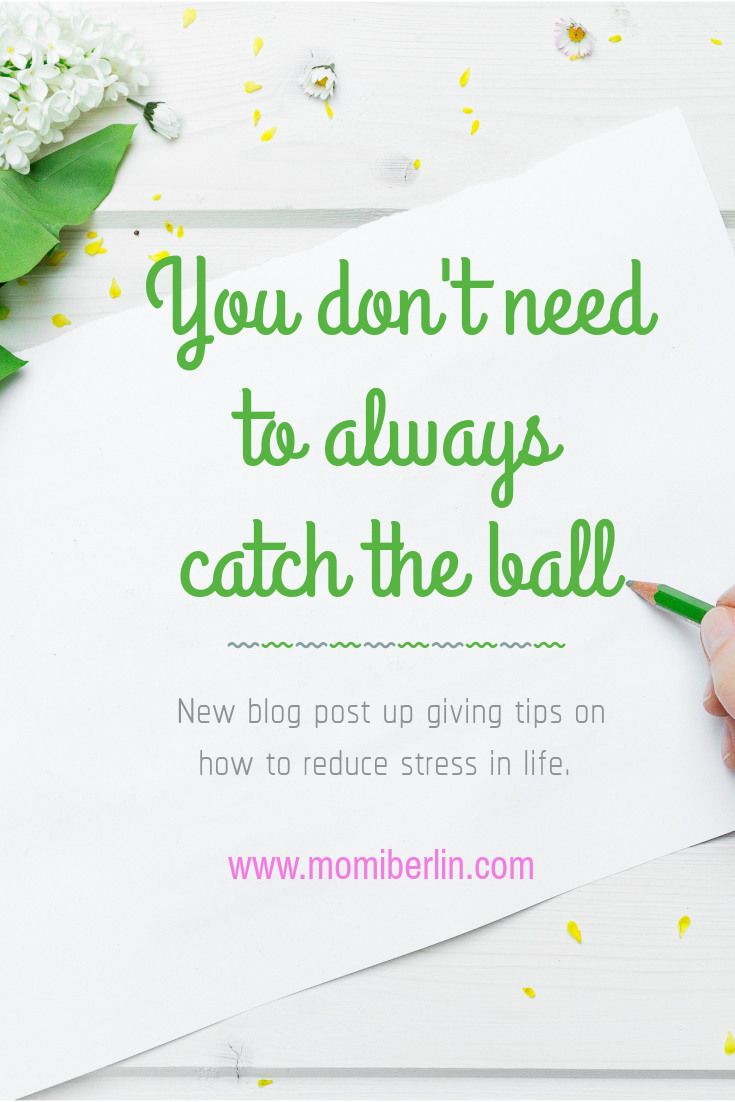 MOMI LEARNS| You don't need to always catch the ball