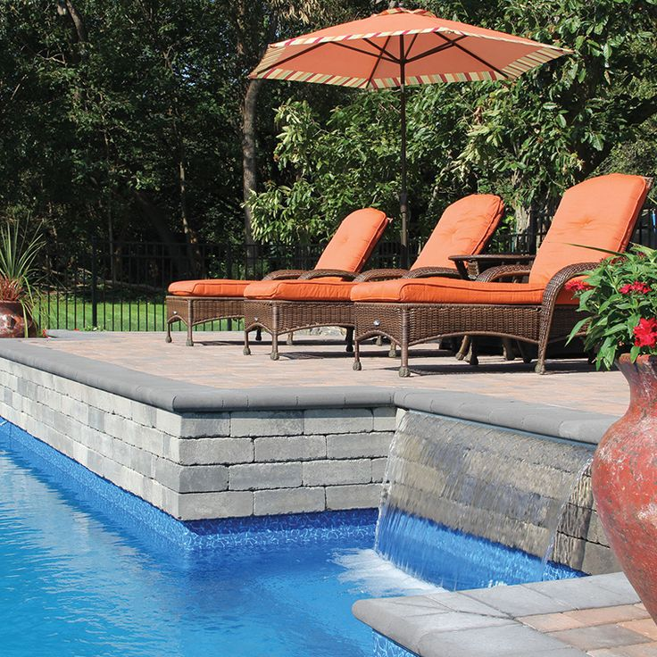1000 Images About Nicolock Patios Pools On Pinterest: 17 Best Images About Nicolock Waterfalls On Pinterest