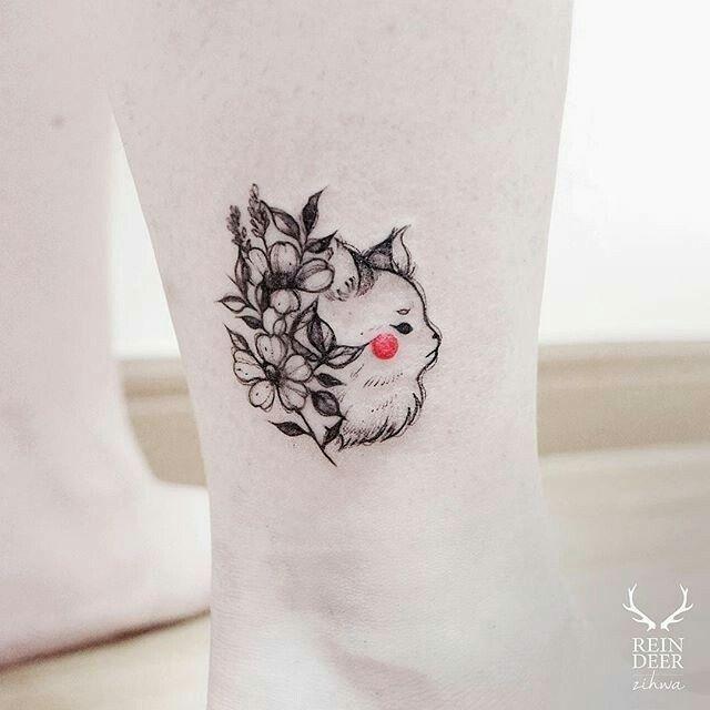 """Descobrindo novas referencias =) Tatuagem feita por  <a href=""""http://instagram.com/zihwa_tattooer"""">@zihwa_tattooer</a>❤️"""