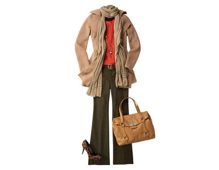 Love this style for fall - basing my winter weather wardrobe upon these classic elements.