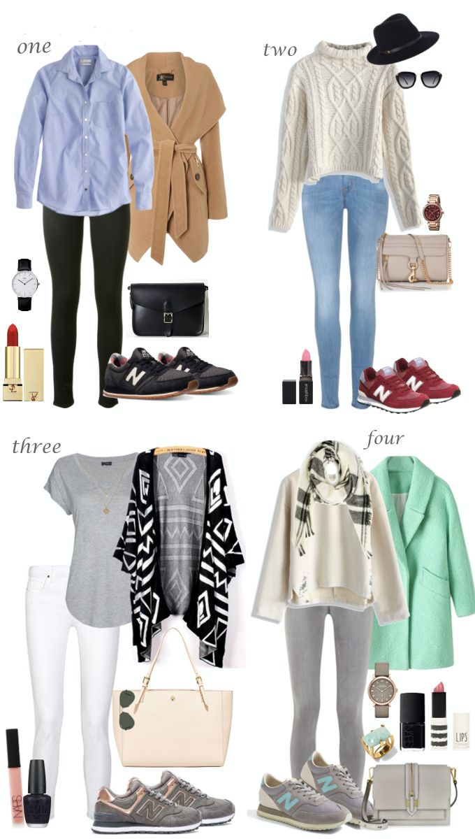 Lilly Style: Chic outfit ideas with the New Balance sneakers